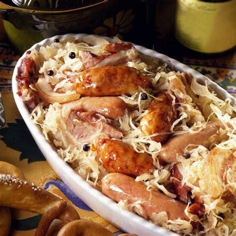 cuisiner choucroute cuite les 25 meilleures idées de la catégorie choucroute
