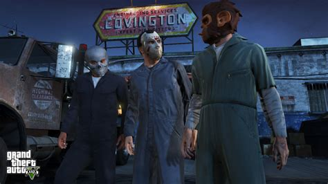 The Purge Mask Halloween Club by Gta V Preview