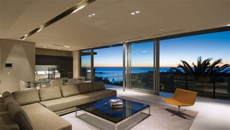 minimalist ocean view home  south africa idesignarch
