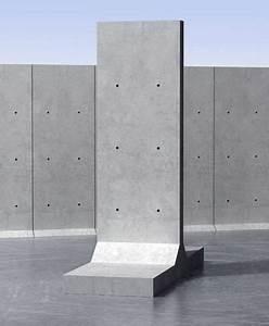 Mur En Béton : mur de sout nement pr fabriqu en b ton arm unit pr fabriqu e t milbury mur de ~ Melissatoandfro.com Idées de Décoration