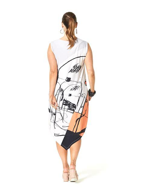 saturn geo dress  size