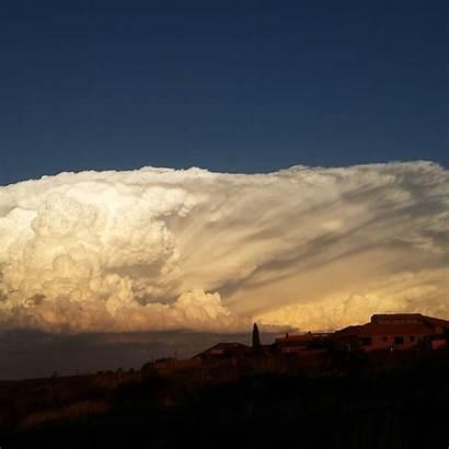 Cloud Cumulonimbus Africa South Powerful Sky Mpumalanga