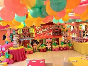 LOL Surprise Doll Theme Backdrop - Junnie Tan Arts and Designs