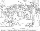 Famous Coloring Seurat Paintings Sunday Georges Colorare Afternoon Arte Happy Disegni Jatte Colouring Fun Happyfamilyart Grande Opere Oil Outline Masterpieces sketch template