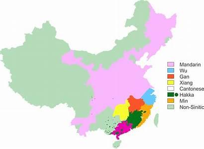 Cantonese Language Chinese Mandarin China Map Languages