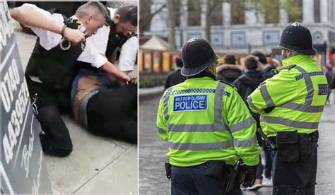 British Police Accused Of Brutality After Video Of London ...