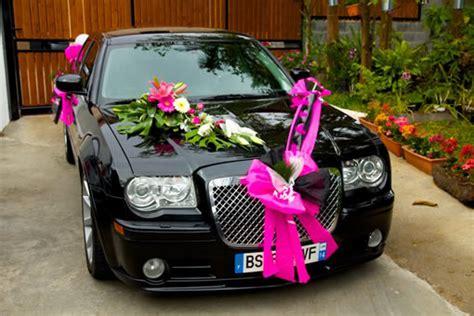decoration capot voiture mariage voitures de mari 233 es