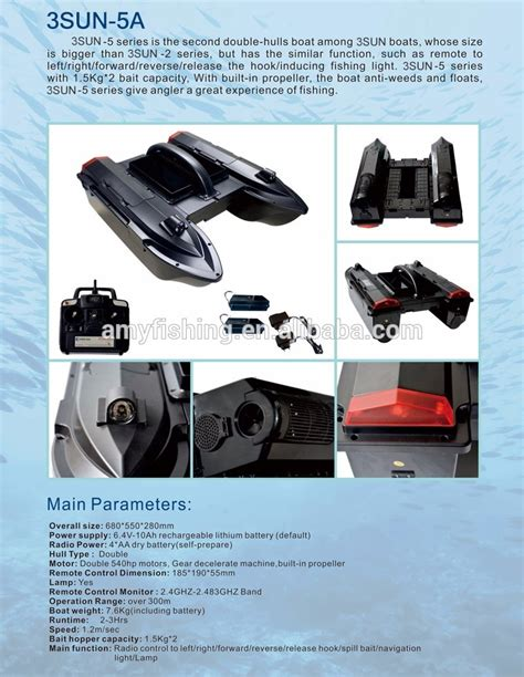 Fishing Bait Boat Buy by New Design Remote Control Fishing Bait Boat Buy Fishing
