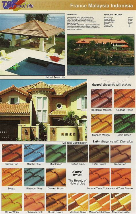 10 tbf clay roof tiles home depot tile sale view