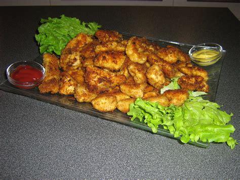 nuggets de poulet maison pour 4 personnes recettes 224 table