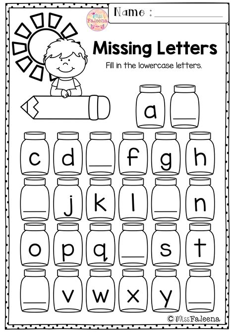 kindergarten morning work set  imagenes lenguaje