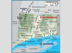 Connecticut map printable Trials Ireland