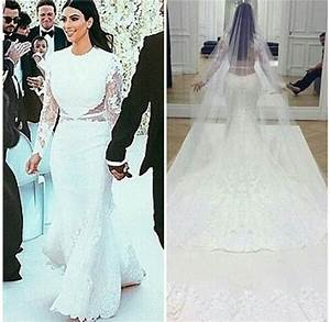 kim kardashian wedding dress givenchy perfect combination With how much was kim kardashian s wedding dress
