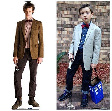 diy eleventh doctor dr  costume  tardis candy box