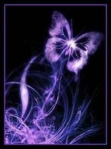 Download Purple Butterfly Wallpaper 240x320