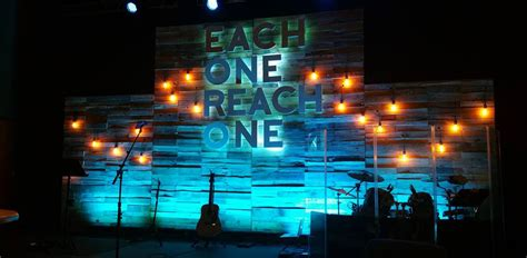 lights dropped  church stage design ideas