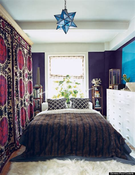 queen bed in small bedroom 11 ways to make a tiny bedroom feel huffpost 19576