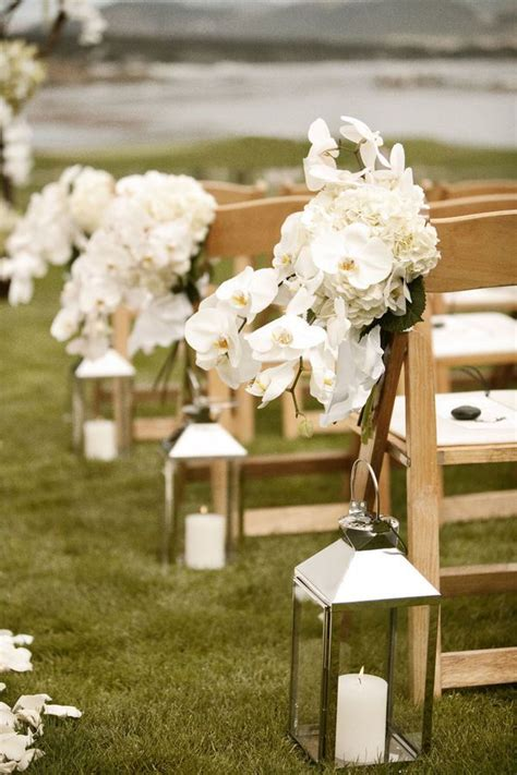 creative lanterns wedding aisle decor ideas deer