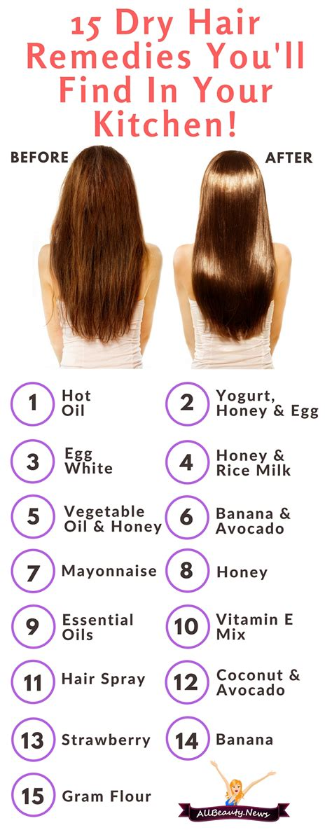 Kitchen Hair Remedies by 15 Hair Treatments You Ll Find In Your Kitchen