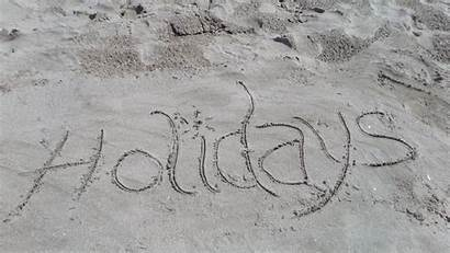 Gambar Writing Laut Sand Holiday Letters Sea