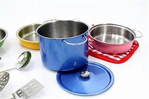 PowerTRC Colorful Metal Pots and Pans Cookware with ...