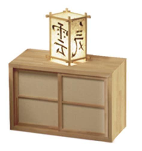 Comodini Giapponesi Comodini Moderni Stile Giapponese Legno Naturale