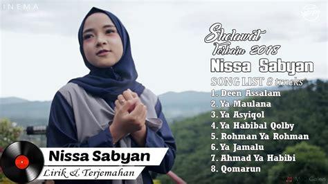 Download Nissa Sabyan Full Album Video Lirik Lagu Sholawat