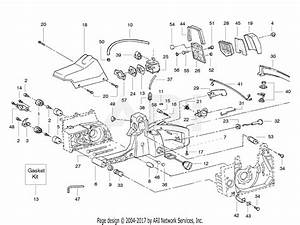 Poulan Pp380 Gas Saw  380 Gas Saw Parts Diagram For Interior Assembly