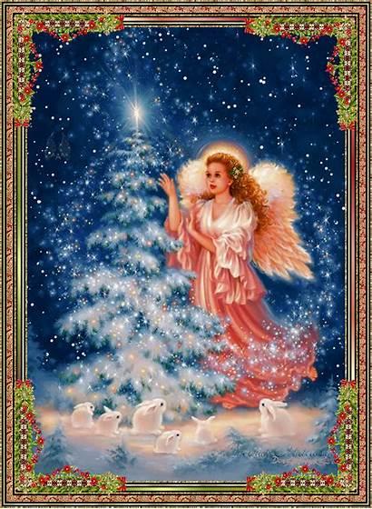 Angel Christmas Angels Beautful Merry Tree Fanpop