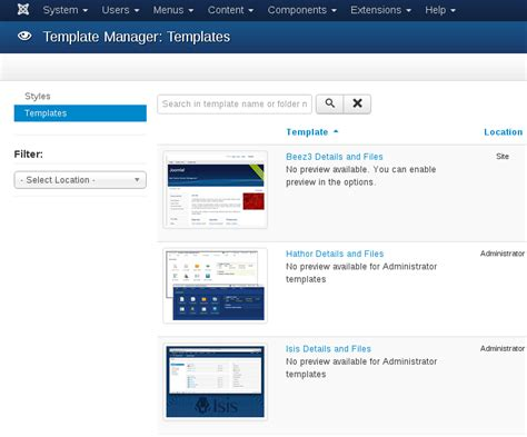 How To Upload A Template In Joomla by How To Add Font Into Joomla Website