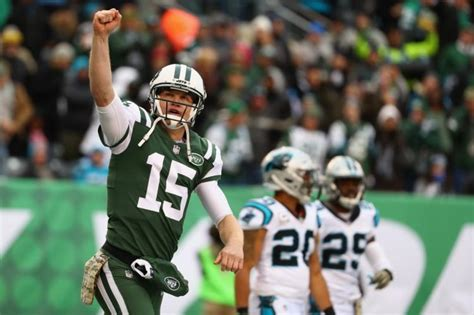 josh mccowns career year cost jets chance  darnold