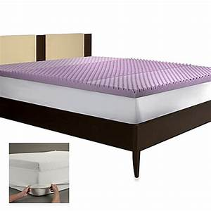 buy biostm neck and shoulder support queen mattress topper With bed bath and beyond firm mattress topper