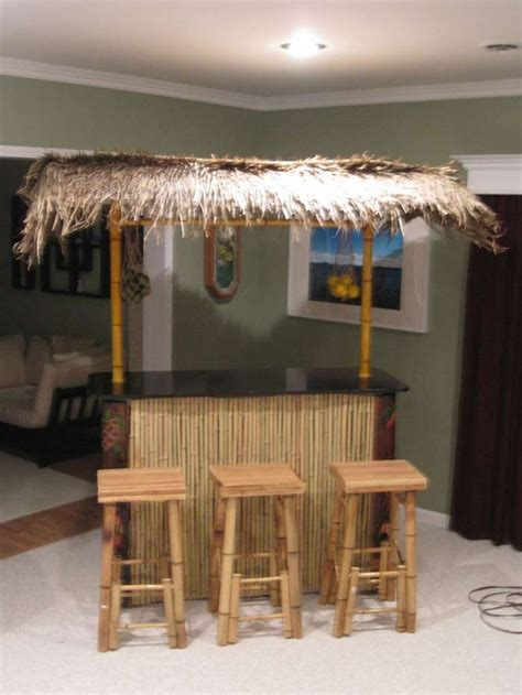 build  portable tiki bar woodworking projects