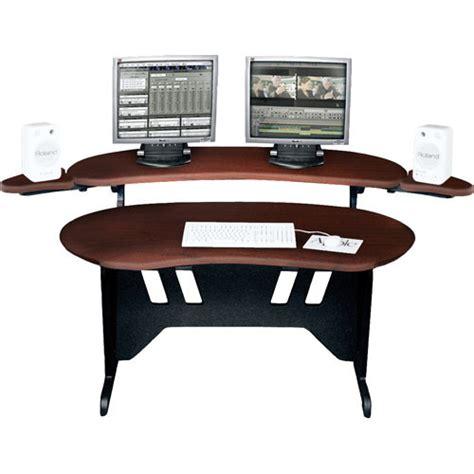 middle atlantic desk middle atlantic el dc 84 quot edit center desk el dc b h photo