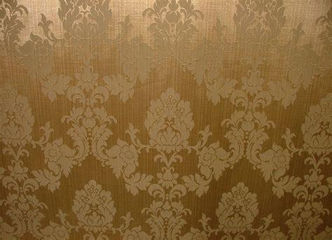 antique gold madagascar designer curtain brocade damask