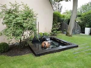 Bassin De Jardin Design Zen. cr er un bassin contemporain dans votre ...