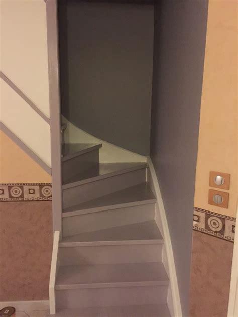 escalier repeint et mont 233 e d escalier relooke