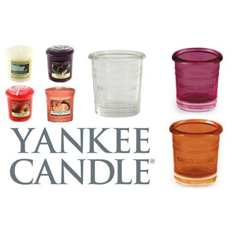 yankee candle tea lights yankee candle glass tea light votive holder wedding