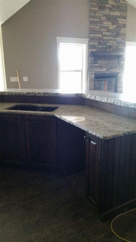 rock chip edge on granite and granite countertop by r s