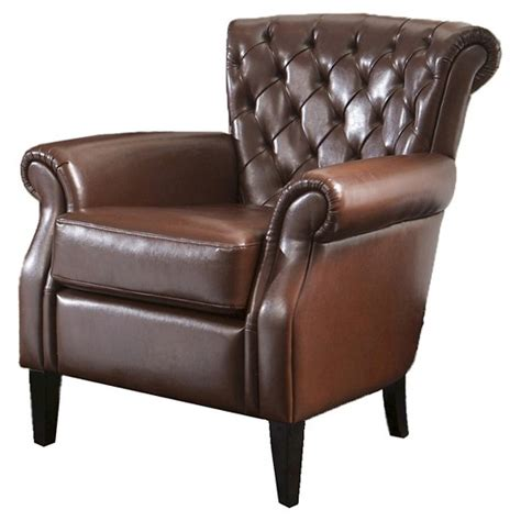 franklin tufted fabric club chair christopher
