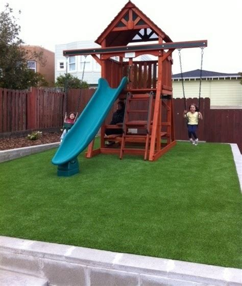 Backyard Play Structure by Play Structures For Any Yard Size Traditional