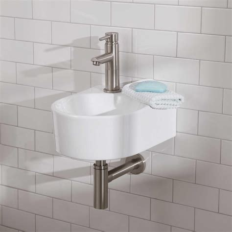 small wall mount bathroom sink small wall mount bathroom sink good audrie porcelain