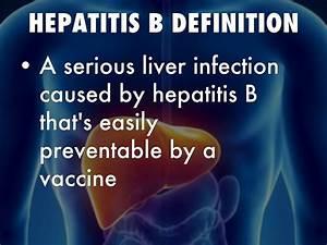 Hepatitis B by David Pfeifer