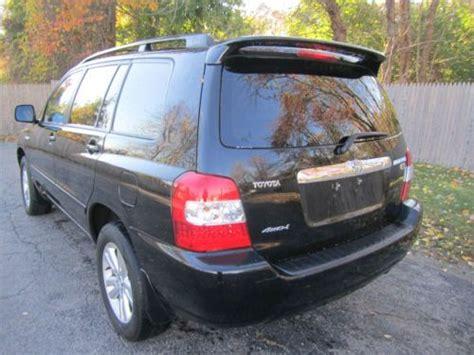 2006 Toyota Highlander Hybrid Mpg by Sell Used 2006 Toyota Highlander Hybrid Sport Utility 3 3l