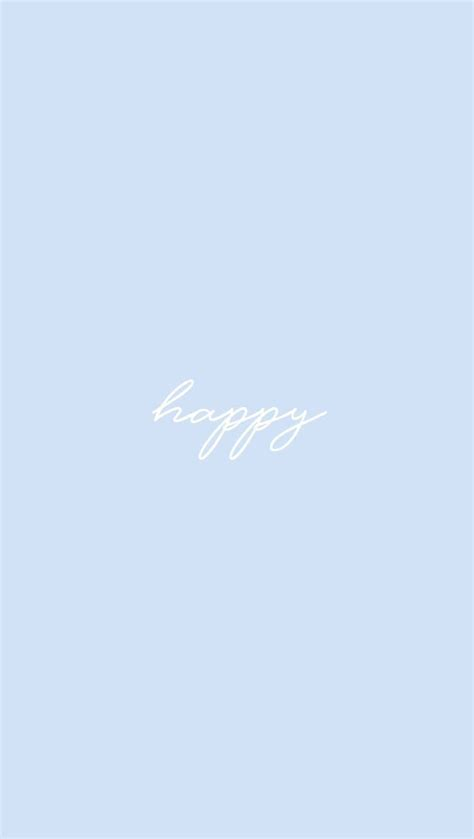 iphone aesthetic baby blue wallpaper