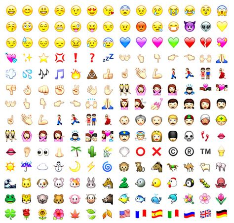 how to see iphone emojis on android emoticons para tu iphone applediario