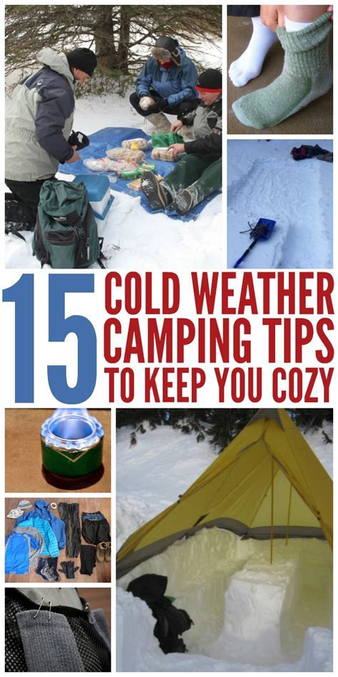12 Winter Camping Tips That'll Keep You Cozy