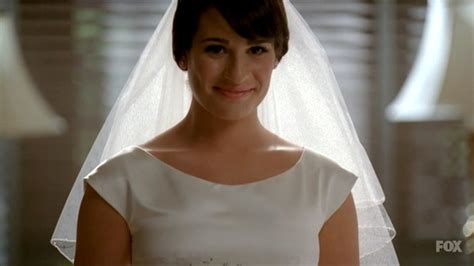More Pics Of Lea Michele Wedding Dress (3 Of 10)