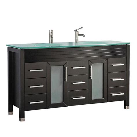 mtd vanities   espresso double sink bathroom vanity