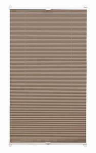 Plissee 65 Cm : easyfix plissee taupe 50 x 130 cm 33075 ~ Markanthonyermac.com Haus und Dekorationen